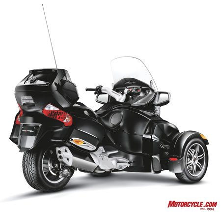 2010 Can Am Spyder Rt Preview