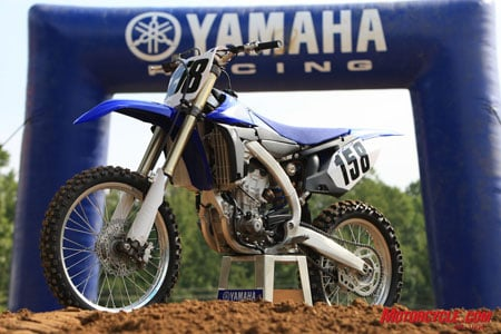 Introducing the 2010 Yamaha YZ450F.