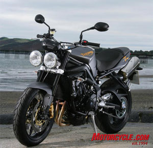 Triumph's Street Triple R is a fantastically versatile sporting package with one of our favorite engines of all time. It's an elemental motorcycle but with major-league performance built in, and its fun-to-ride quotient is sky high, earning our MoBo Motorcycle of the Year for 2009.