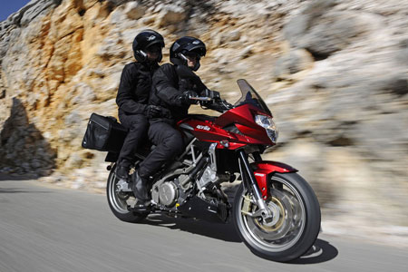 We�d prefer not to carry a passenger on the Shiver GT.
