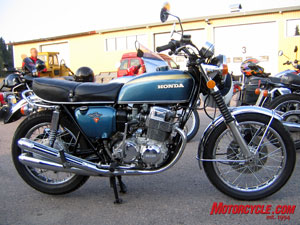 Early '70s Honda CB750.
