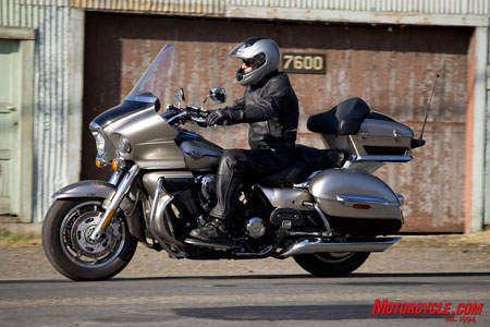 Kawasaki says its Vulcan 1700 Voyager is the market's only metric V-Twin luxury-touring machine.