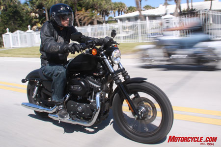 2009 Harley Davidson Iron 883 Review Motorcycle Com