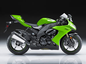 The 2008 ZX-10R looks like it has hit the gym, appearing leaner and nastier than the bulbous outgoing model.