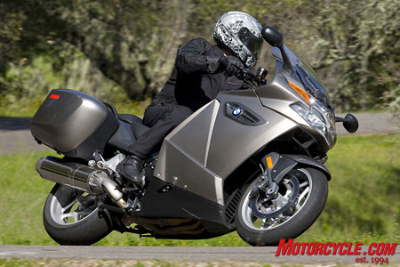 New found power and traditionally good handling mean the K1300GT is back in the hunt for top sport-touring honors in '09.