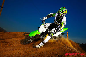 Get your mini moto on with the KLX110.