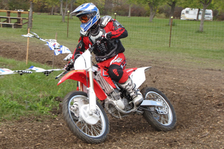 This bike just may be the easiest to ride motocross bike ever. It makes spodes feel like Pros and Pros feel invincible.