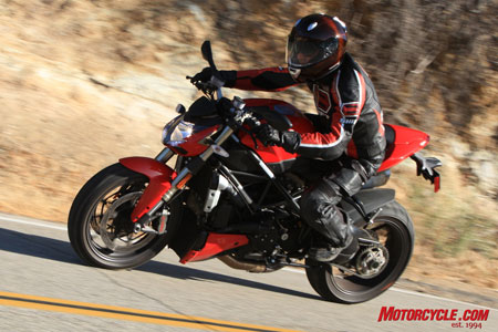 If you're looking for a high-performance naked sportbike, the Streetfighter should be on your wish list.