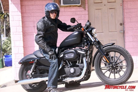 Yeah, so what if I live in a pink house, I gots a Harley now. Yah!