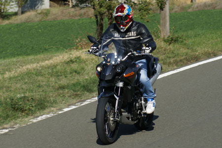 Bottom line: the Granpasso's ultra smooth V-Twin provides a thrilling ride.