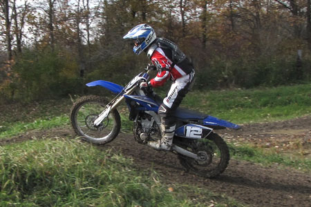 The new Yamaha feels light, aggressive and craves tight, jump-filled motocross tracks.