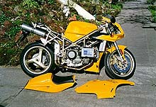 first impression: 1997 ducati 748 - motorcycle