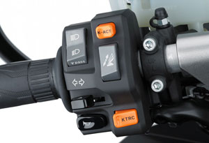 K-ACT, KTRC � safety enhancing features at your fingertips. K-trick!
