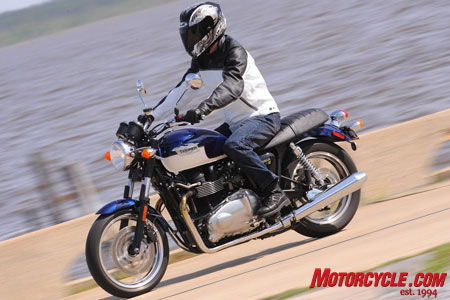 2009 Triumph Bonneville Review