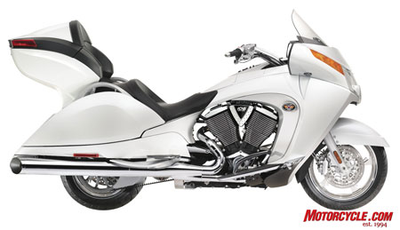 The 2010 Vision Tour Premium will have ABS as a $1,000 option.