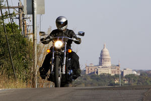 Austin has a beautiful capitol building and marvelous scenery. Who'd a thunk it?