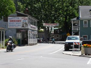 Quaint little towns like Downieville are a great place to fuel up and wet your whistle
