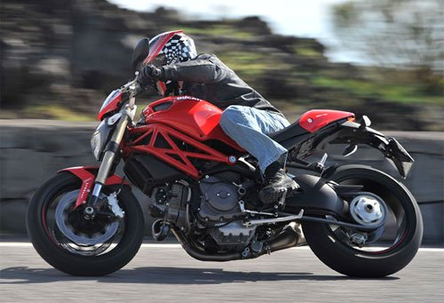 Ducati Monster Naked Air Cooled Motorcycles Motorcyclecom