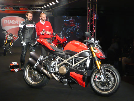 Ducati's latest naked beast has more in common to the 1098 than the Monster.