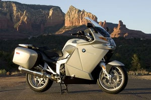 The new BMW K 1200 GT. One of only two bikes that BMW lists as a sport touring motorcycle in their entire line.