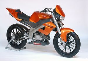 This tasty number won the design award against every other motorcycle design in 2003.