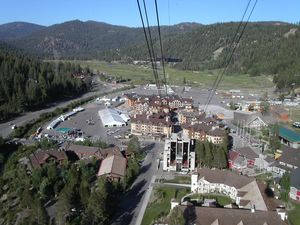 A gondola's eye view of the BMW Motorrad grounds coutesy of Buzglyd