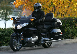 The Gold Wing offers power, refinement and handling like no other motorcycle.
