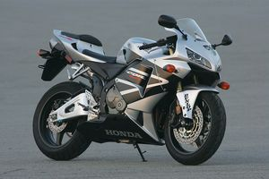 Then again, the Silver bike is quite attractive in its Honda Wing suit.