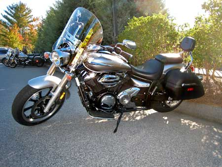 2009 Yamaha V Star 950 Review First Ride Motorcycle Com