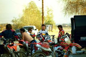 We don't like to drop names, but Jake Zemke, Jeremy McGrath, Troy Lee.