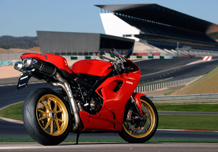 A brand new world-class sportbike on a brand new world-class race track. What could be better than that?