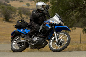 The do-it-all KLR650 has been taken to a higher level.