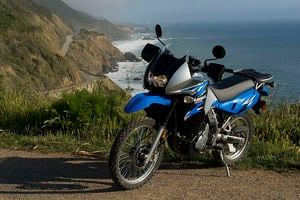 ...the KLR is regarded by many as the standard among adventure-type motorcycles.