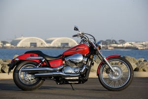 The 2007 Honda Shadow Spirit 750 C2
