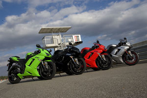 No matter what color you pick, the '07 ZX-6R is a good choice.