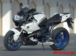 2008 BMW HP2 Sport. The newest member of the HP2 family joins the HP2 Enduro and HP2 Megamoto. Owning any one of the three puts you in an exclusive club.