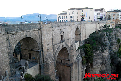 The New Bridge is the signature image of Ronda, Spain.
