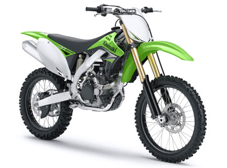 Kawasaki basically built a brand new KX450F for 2009.