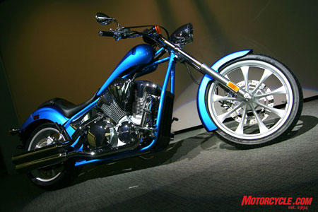 Scheduled to hit dealers this spring, the 2010 Honda Fury is the biggest streetbike news for Honda this year.