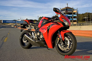 New from the ground up, the 2008 Honda CBR1000RR performs better than its predecessor in every way.