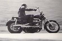 The Shovelhead version of the FXR in action