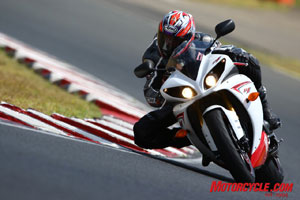 The R1 and its new engine configuration instills confidence to its rider.