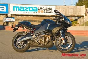 The 2008 Buell 1125R: America's first large-scale production superbike?