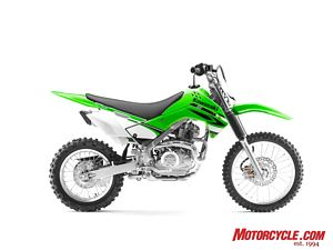 With racing in its genes, the KLX140 and KLX140L are ready for kids and kid-like adults