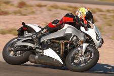 The new frame and suspension components make this the best handling Buell ever.