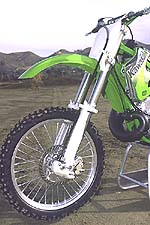 The Kawi's forks were regarded as the cushiest of the bunch.