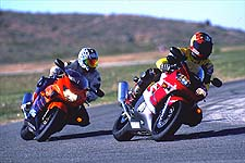 We thought it would be a duel between the Yamaha and Honda. We were wrong.
