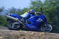 The TT600 in a nutshell: Good chassis, good brakes, decent wind protection, first-year motor.