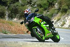 On the street, Kawasaki's motor is one of the best around. Thankfully, its brakes are equally impressive.