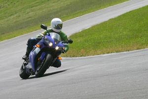 Gabe really liked the build quality and reliability of Yamaha's big sportbike.